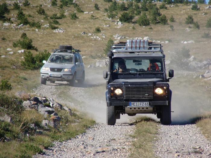 Kroatien Adventure Offroad 2009