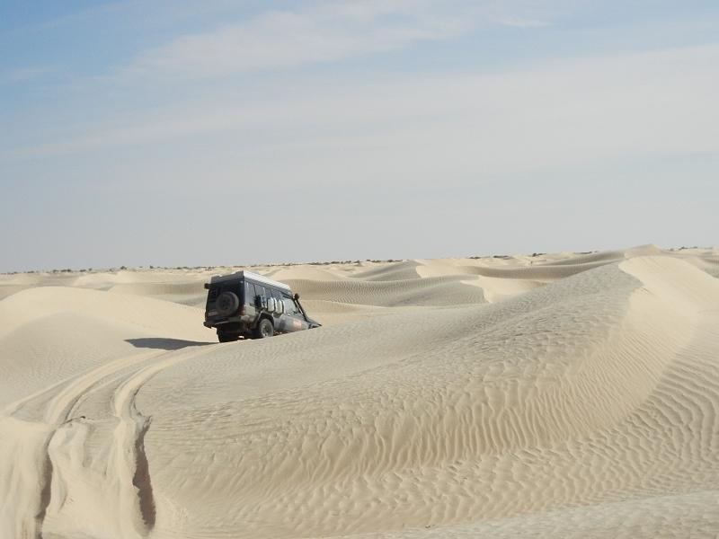 Tunesien Adventure Offroad Wüste pur 2013